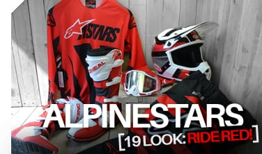 Alpinestars Looks for '19 - Ride Red!