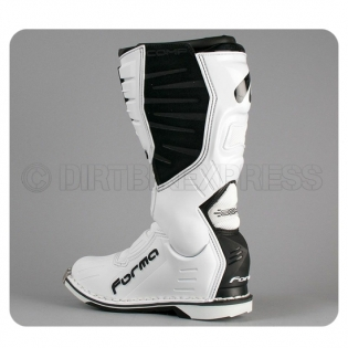 Forma Dominator Comp Motocross Boots - White Image 3