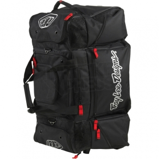 Troy Lee Designs SE Wheeled Gear Bag Black Image 2