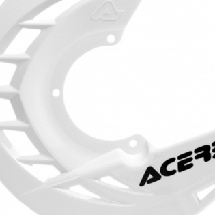 Acerbis X-Brake Front Disc Protector White Image 2