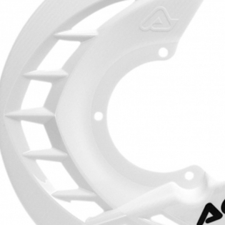 Acerbis X-Brake Front Disc Protector White Image 3