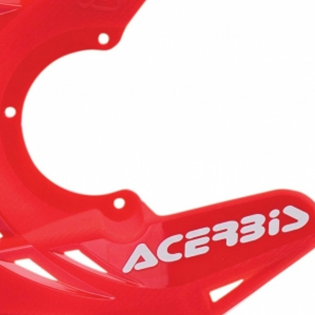 Acerbis X-Brake Front Disc Protector Red Image 2