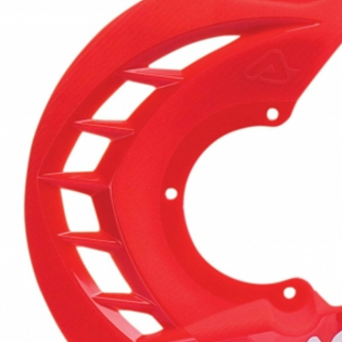 Acerbis X-Brake Front Disc Protector Red Image 3