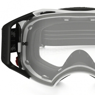 Oakley Airbrake MX Goggles - Matte White Speed Image 3