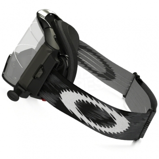 Oakley Airbrake MX Roll Off Goggles - Jet Black Speed Image 2