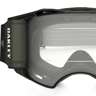 Oakley Airbrake MX Roll Off Goggles - Jet Black Speed Image 3