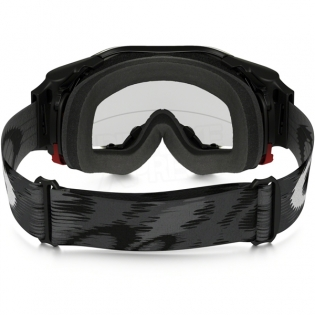 Oakley Airbrake MX Roll Off Goggles - Jet Black Speed Image 4