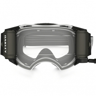 Oakley Airbrake MX Roll Off Goggles - Matte White Speed Image 2
