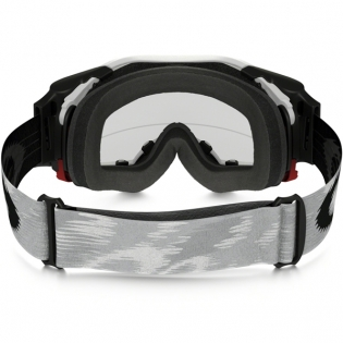 Oakley Airbrake MX Roll Off Goggles - Matte White Speed Image 3