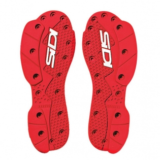 Sidi SMS Replacement Supermoto Soles - Red Image 4