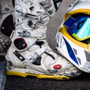 Sidi SMS Replacement Supermoto Soles - Yellow Image 3
