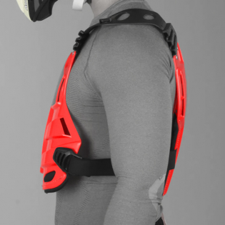 Acerbis Profile Chest Protector - Red Image 2