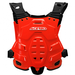 Acerbis Profile Chest Protector - Red Image 3