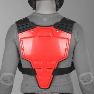 Acerbis Profile Chest Protector - Red Image 4