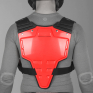 Acerbis Profile Chest Protector - Red