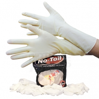 No Toil Latex Gloves Image 4