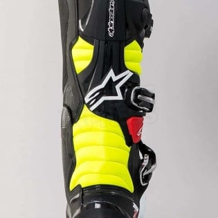 Alpinestars Tech 7 Boots - Black Red Yellow Image 3
