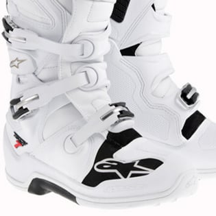 Alpinestars Tech 7 Boots - White Image 4