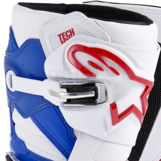 Alpinestars Tech 7 Boots - White Red Blue Image 3