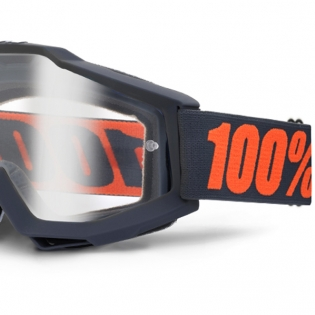 100% Accuri Goggles - Gunmetal Clear Lens Image 4