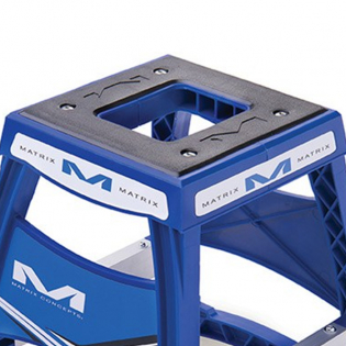 Matrix M64 Elite Bike Stand - Blue Image 2