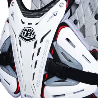 Troy Lee Designs 5900 Chest Protector - White Image 3
