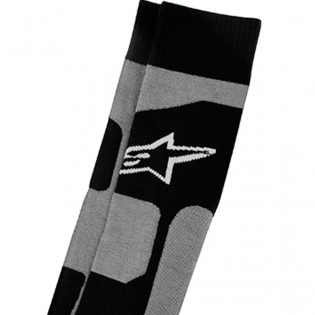 Alpinestars Tech Coolmax Socks - Grey Black White Image 2
