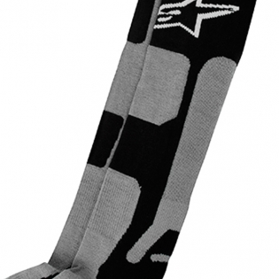 Alpinestars Tech Coolmax Socks - Grey Black White Image 3