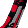 Alpinestars Tech Coolmax Socks - Grey Black Red