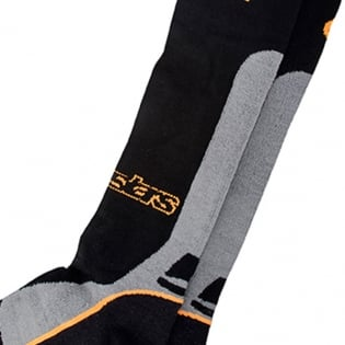 Alpinestars Pro Coolmax Socks - Black Grey Orange Image 3