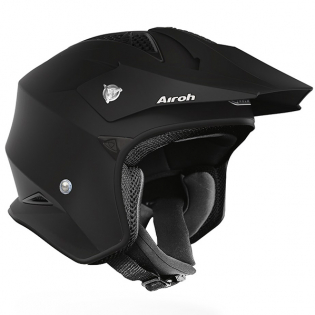 Airoh TRR Trials Helmet - Matt Black Image 2