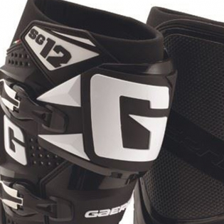 Gaerne SG12 Motocross Boots - Limited Edition White Black Image 2