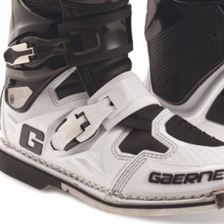 Gaerne SG12 Motocross Boots - Limited Edition White Black Image 4