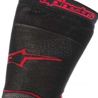 Alpinestars Long MX Socks - Black Red Image 2