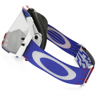 Oakley Airbrake MX Goggles - High Voltage Red White Blue Image 2
