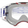 Oakley Airbrake MX Goggles - High Voltage Red White Blue