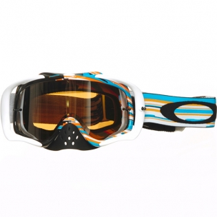 Oakley Crowbar Goggles - Glitch Blue Orange Iridium Image 2
