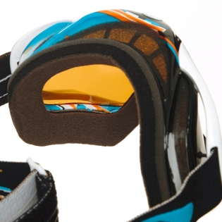 Oakley Crowbar Goggles - Glitch Blue Orange Iridium Image 3