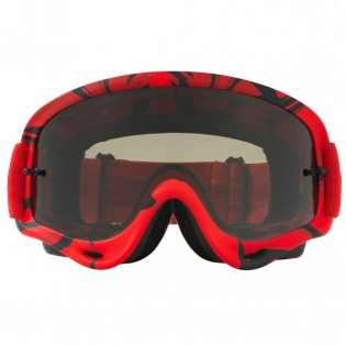 Oakley O Frame Goggles - Intimidator Red Black Dark Grey Image 2
