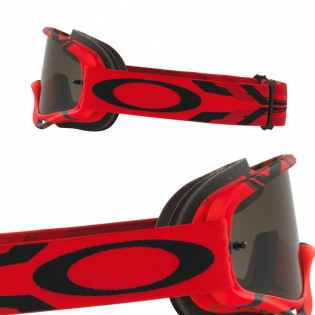 Oakley O Frame Goggles - Intimidator Red Black Dark Grey Image 3