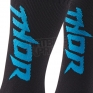 Thor Kids MX Boot Socks - Black Blue