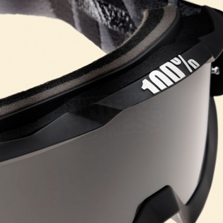 100% Accuri Sand Goggles - Superstition Smoke Lens Image 4