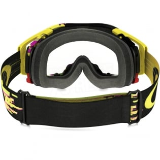 Oakley Airbrake MX Goggles - Glitch Pink Yellow Green Image 4
