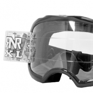 Rip n Roll Colossus XL Roll Off Goggles - Black Image 2