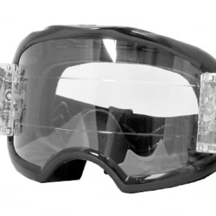 Rip n Roll Colossus XL Roll Off Goggles - Black Image 3