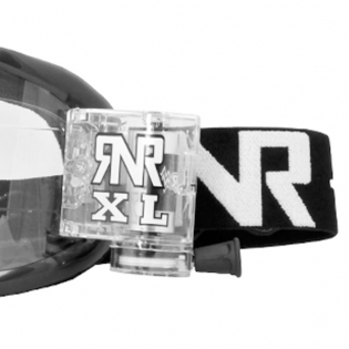 Rip n Roll Colossus XL Roll Off Goggles - Black Image 4