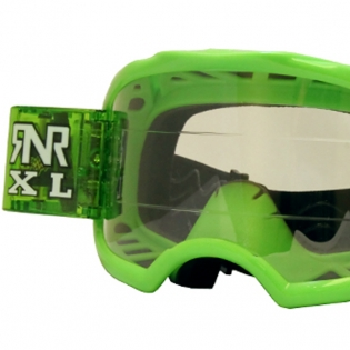 Rip n Roll Colossus XL Roll Off Goggles - Green Image 2