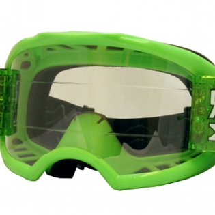 Rip n Roll Colossus XL Roll Off Goggles - Green Image 3
