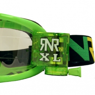 Rip n Roll Colossus XL Roll Off Goggles - Green Image 4