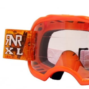 Rip n Roll Colossus XL Roll Off Goggles - Orange Image 2